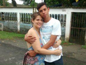 A perda de contatos e endereços fez com que Ângela Gonçalves não soubesse o paradeiro do filho.