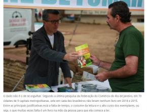 1205 - Campanha pretende doar 4 milhões de livros em São Paulo