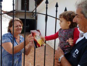 Os pequenos evangelistas também se dedicaram ao Impacto Esperança