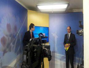 O jornalista Raphael Bicalho entrevistou no Jornal Geraes o pastor Claudiney Santos que falou das atividades sociais realizadas pelos adventistas
