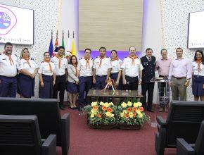 Administradores da Igreja Adventista e líderes de Aventureiros das regiões Leste e Norte de São Paulo-SP na manhã de sexta-feira, 20. [foto: Michelle Martins]