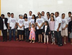 Adventistas da Igreja de Viradouro participam do Impacto Esperança 2016.