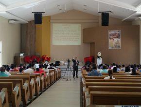 Anciãos e líderes se reuniram na Igreja da Interventoria para o primeiro módulo em Santarém