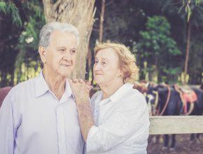Para comemorar os 60 anos de casados, Milton e Maria participaram de um ensaio fotográfico.