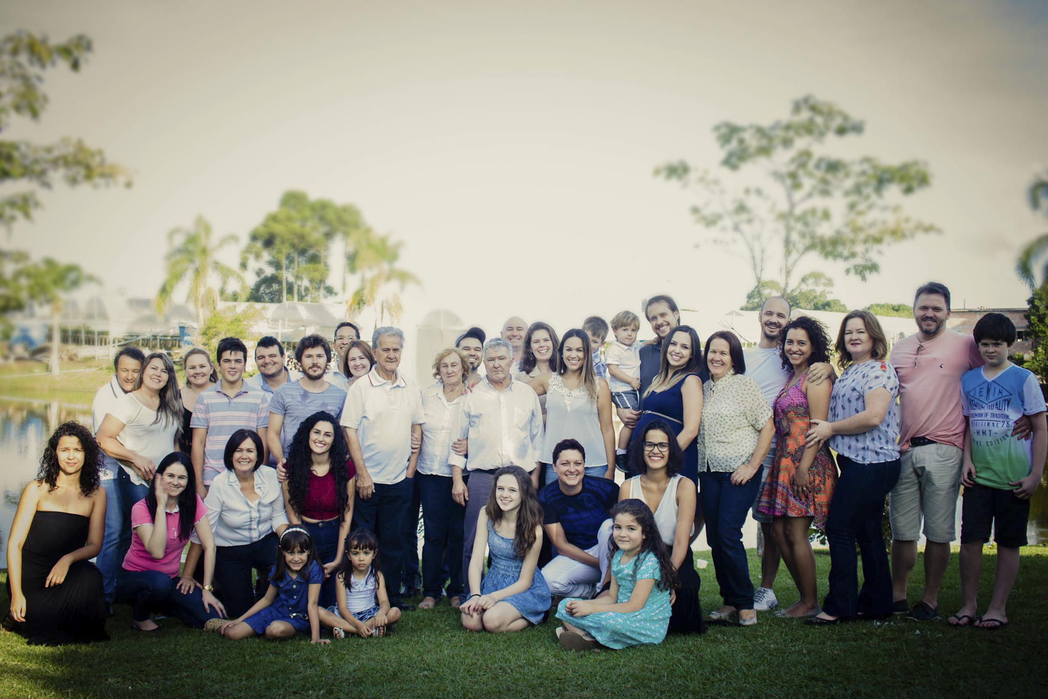 A união resultou em sete filhos, 18 netos e 11 bisnetos.