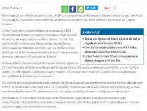 Sem hospital de referência, tratamento de H1N1 se divide em rede pública e privada