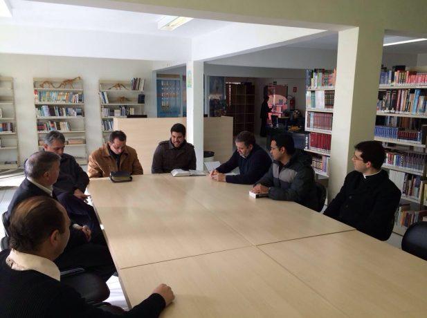 A reunião proporcionou troca de experiências.