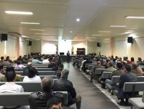 O Concílio 'Adore - Adoração e Reavivamento' reuniu no último sábado (11) 300 líderes de Mordomia Cristã, Anciãos e Tesoureiros das igrejas de Campo Grande.