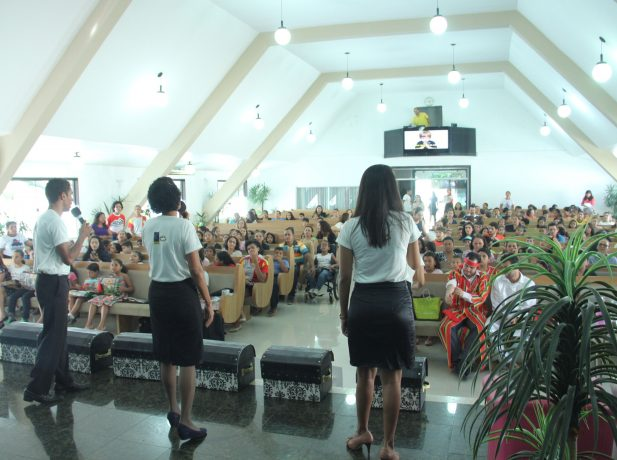 Projeto tem o objetivo de incentivar as crianças na comunhão com Deus