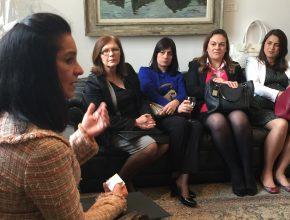 Lúcia Alckmin fala sobre a importância do trabalho realizado pelas mulheres no Estado