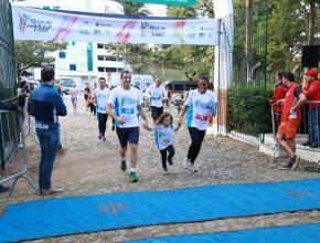 Famílias participaram do evento