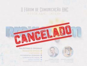II Fórum de Comunicação foi cancelado