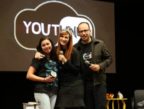 Criadores de canal de vídeos sobre a Escola Sabatina participaram do encontro.