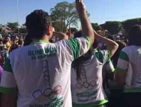 100 camisetas das Olimpíadas da Esperança foram feitas e até mesmo pessoas que não frequentam a igreja compraram e circularam pela cidade usando a camiseta no dia do evento.