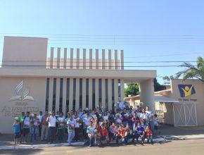 Aproximadamente 80 membros da igreja em Bataguassu organizaram e deram vida ao evento que marcou uma das datas mais importantes do calendário esportivo mundial.