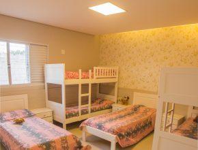 Os quartos das meninas passou por mudança completa e hoje tem um visual mais aconchegante, o que gerou nas crianças o desejo de cuidar mais do ambiente.