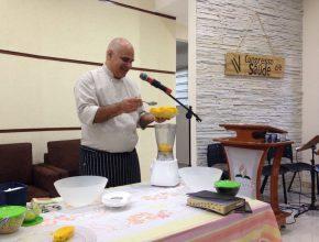 Chef ensina receitas para quem quer mudar o estilo de vida