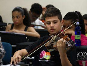 Projeto já é tradição no Unasp e anualmente reúne centenas de crianças e adolescentes de todo o Brasil