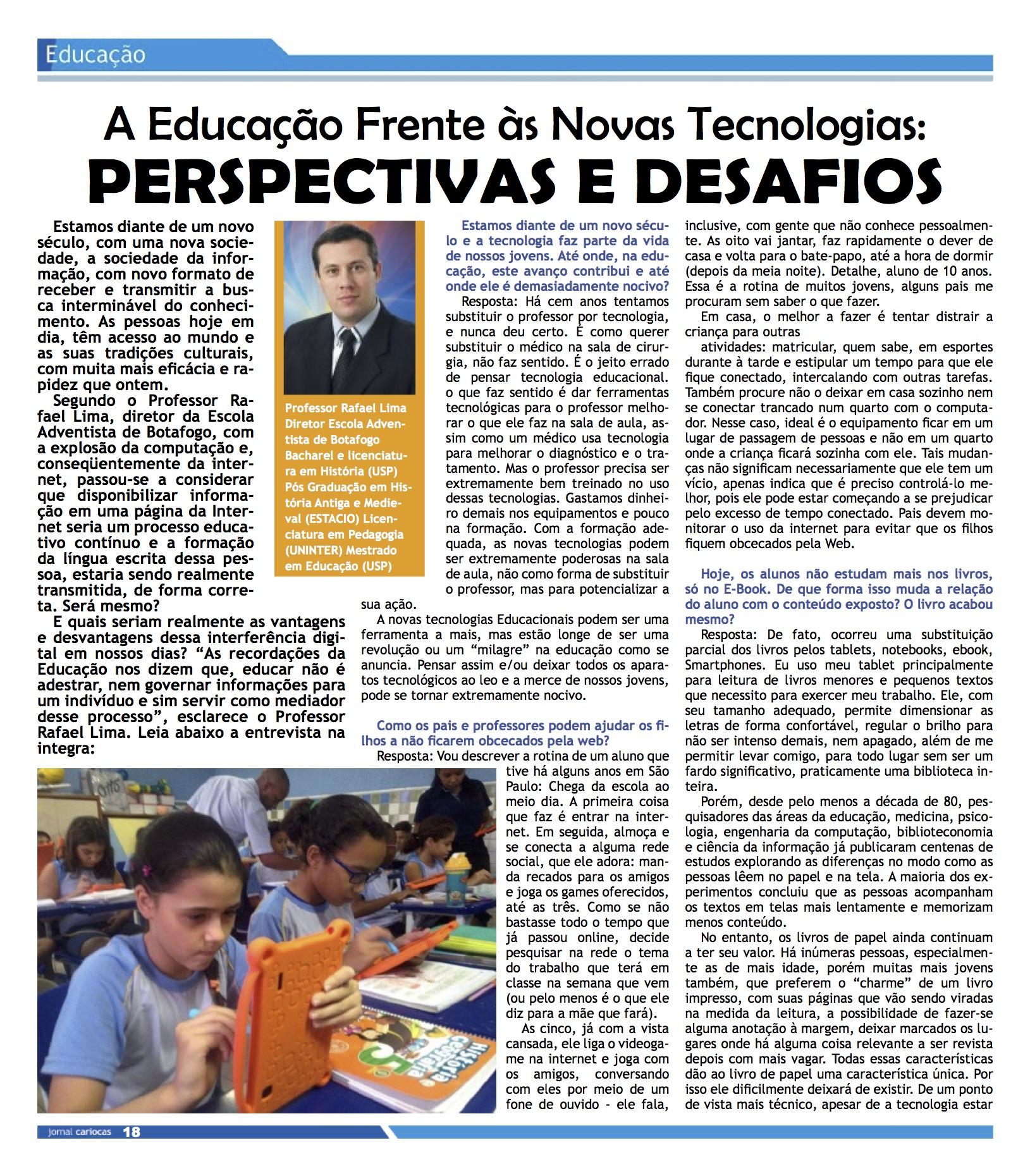 Jornal educação EAB