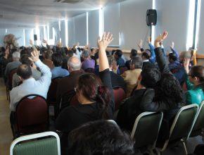 O encontro foi marcado pelos desafios aceitos dos participantes em tornar a sua igreja mais fiel e preparada para o trabalho.