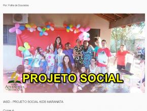 1307 - Projeto social atende crianças no Jardim Novo Horizonte