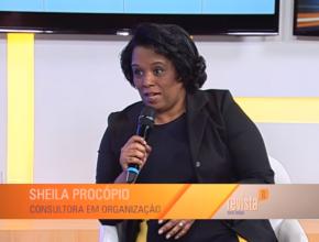 Sheila é conhecida por ensinar métodos de organização na TV Novo Tempo