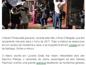 1407 - Produtora capixaba grava filme no Chile