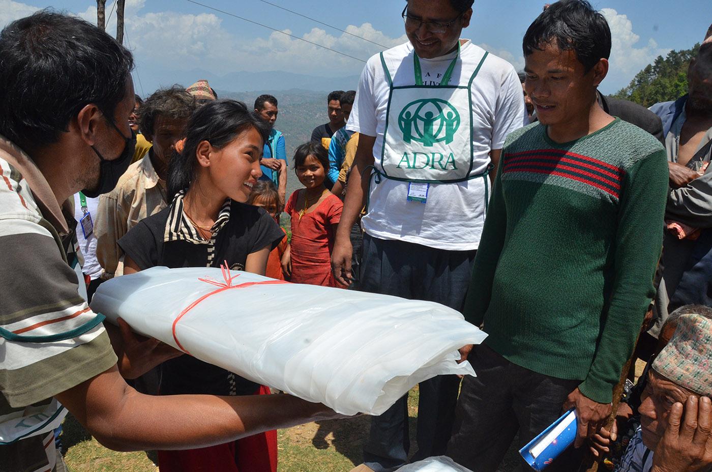 Mais de 13 mil pessoas foram beneficiadas com rápida ação da agência humanitária adventista durante terremoto.