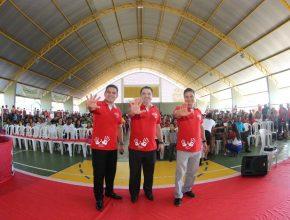 Líderes Jovens da ANPa, UNB e DSA no Mega Calebão