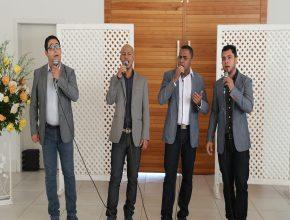 Quarteto Princípius abrilhantou o programa com a parte musical