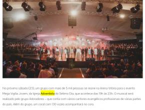 2007 - Musical adventista para 5 mil pessoas em Vitória
