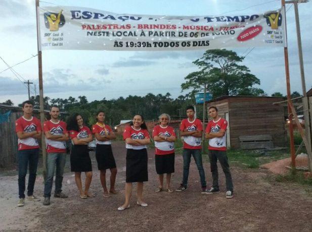 Jovens Adventistas participam da Missão Calebe apoiando projeto evangelístico Impacto Macapá