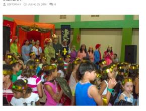 2607 - Colônia de férias cristã beneficiou 144 crianças em Vilhena