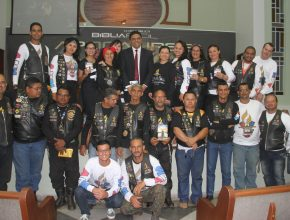 Em passagem por Imperatriz, os motociclistas de Belém foram homenageados na IASD Central