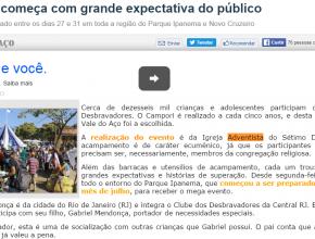 2807 - Campori começa com grande expectativa do público