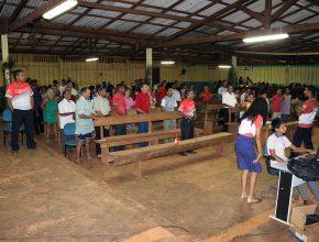 O local de reuniões foi cedido gentilmente à Igreja Adventista do Sétimo Dia.