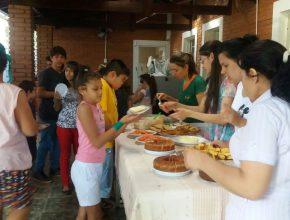 As crianças participaram de diversas oficinas. Foto: colaborador local
