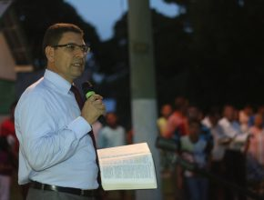 Pastor Abdoval Cavalcanti, um dos palestrantes do evento
