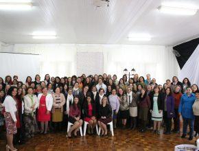 Cerca de 150 participantes do Retiro se reencontraram em Ijuí.