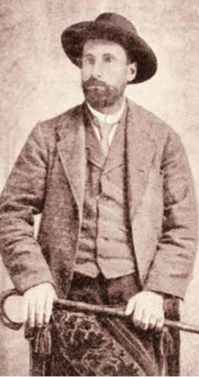 A família de Clair A. Nowlen foi atingida por uma epidemia de febre amarela na América Central que lhes trouxe a morte. (Foto compartilhada pelo historiador Elder Hosokawa)