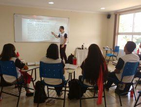 Treinamento com o líder de jovens da AAmaR, pastor Ormeu Lima