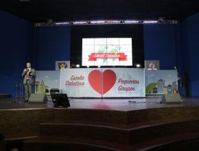 Evento marcou a união da Escola Sabatina com os Pequenos Grupos na região (Foto: Aline Soares)