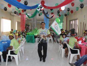 Celebração teve testemunhos, cânticos e uma mensagens especiais.