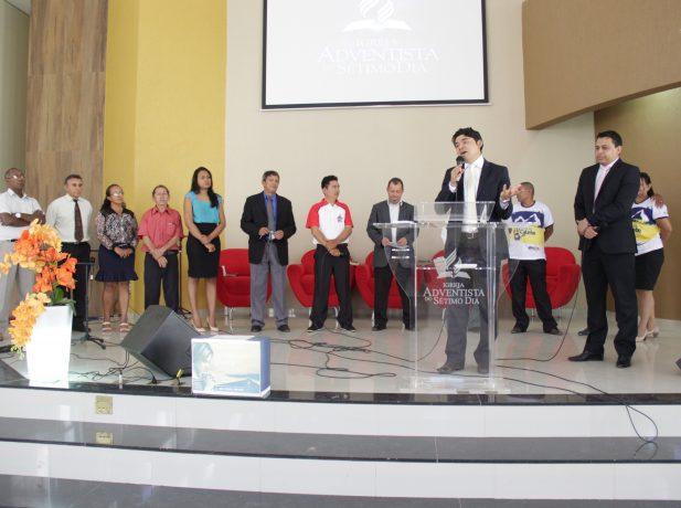 Líderes dos Pequenos Grupos da Igreja da Interventoria, em Santarém-PA