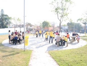 Evento na Praça