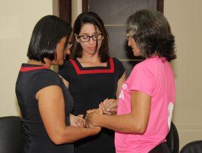 Oração marca o comprometimento dos representantes da Igreja na região