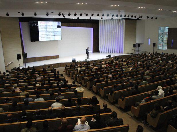 Auditório do Colégio Adventista da Vila Matilde [Foto Michelle Martins]