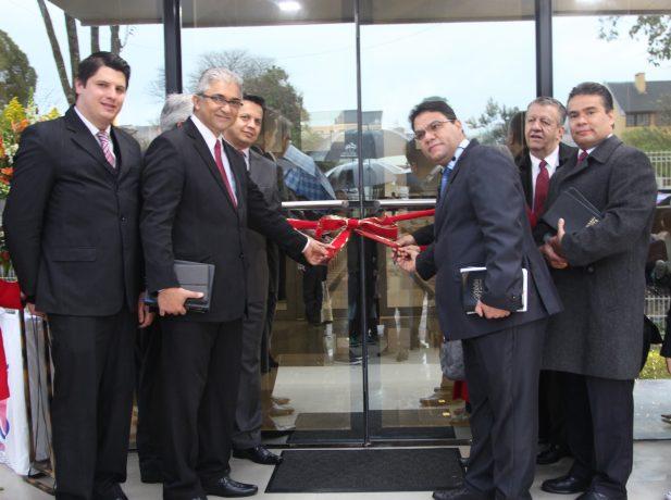 A inauguração teve a presença de líderes da ASP e do tesoureiro da USB.