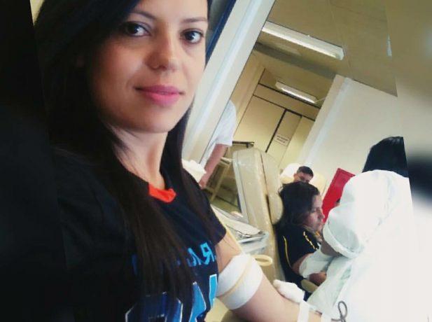 Jovem doa sangue e incentiva comunidade