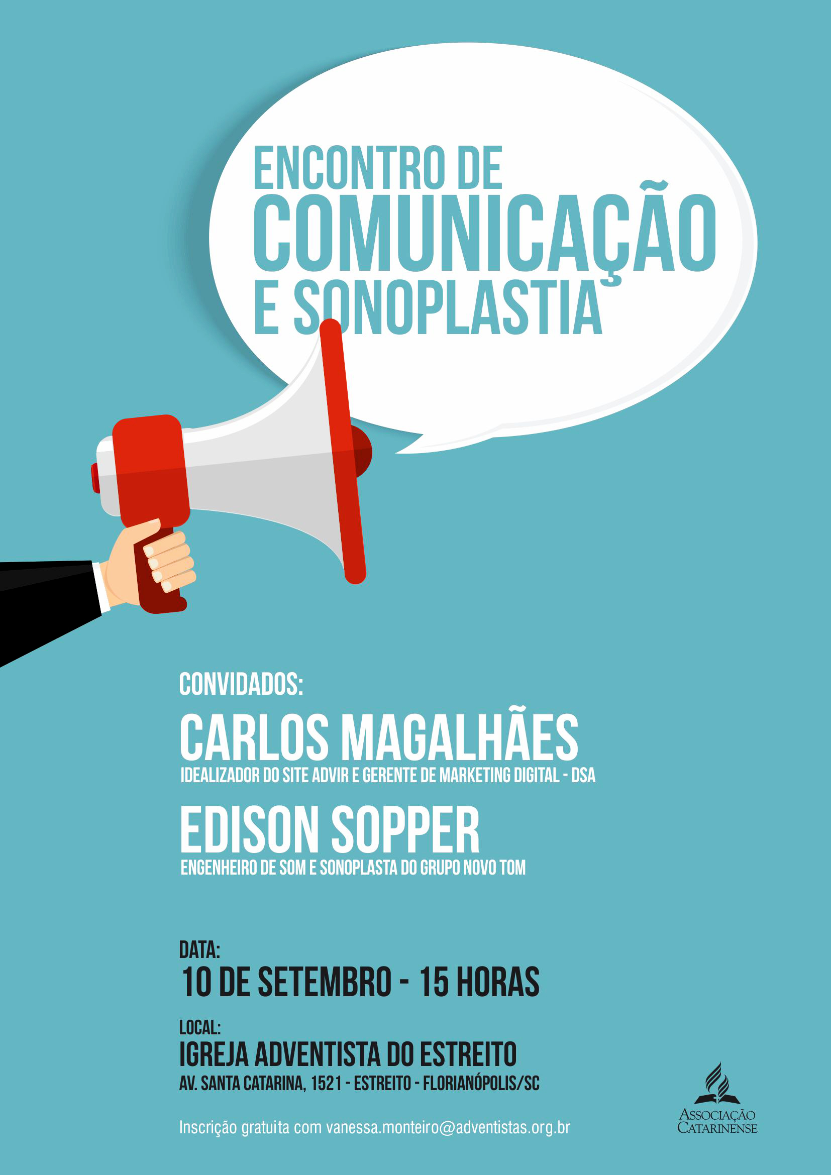 Encontro Comunicação AC 2016 Cartaz 2